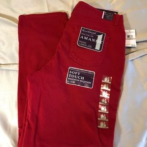 🆕Red jeans